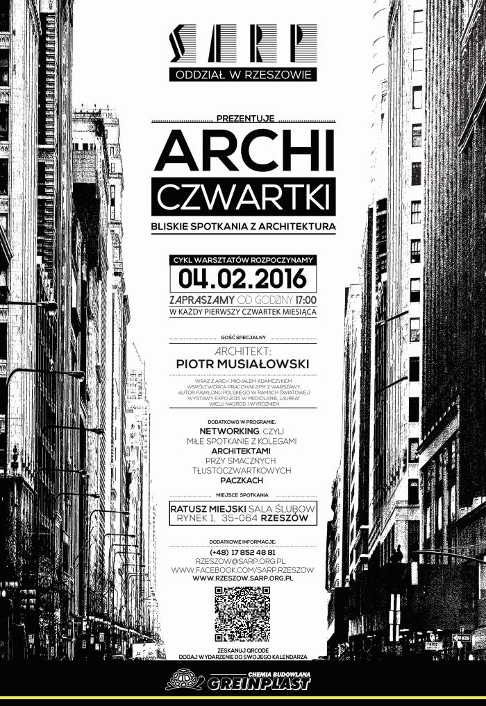 arcjhiczwartki sarp izba architektow piotr musialowski