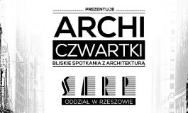 [03.11.2016] ARCHICzwartki – MWM ARCHITEKCI