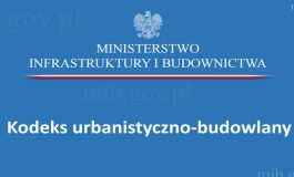 Konsultacje Kodeksu urbanistyczno-budowlanego