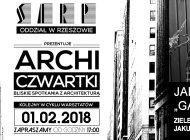 """[01.02.2018] ZIELONY ARCHICZWARTEK – JAKUB """"GARDNER"""" MYŚLIWIEC – ARCH. KRAJOBRAZU"""