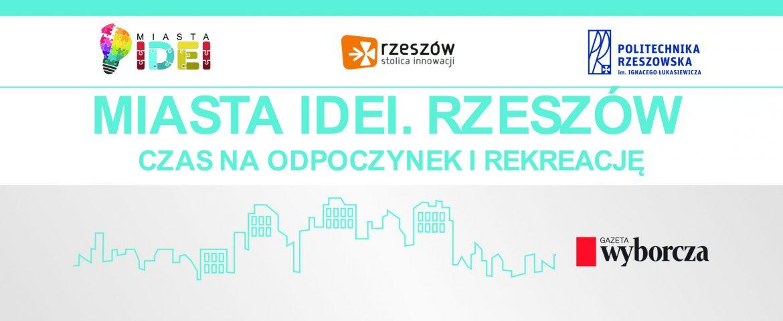 """""""MIASTA IDEI"""" – Konferencja – ZAPROSZENIE"""