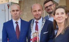 Gratulacje z tytułu objęcia urzędu nowego Prezydenta Miasta Rzeszowa